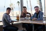 Colin Farrell, Sam Rockwell, Bonny the ShihTzu, Christopher Walken