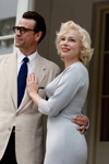 Dougray Scott (Arthur Miller), Michelle Williams (Marilyn Monroe)