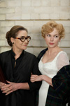 Zoë Wanamaker (Paula Strasberg), Michelle Williams (Marilyn Monroe)